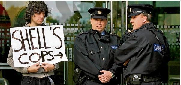 Shells Cops