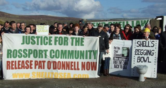 Shell Gas Prices >> Protest at Ballyglass Pier for Pat O Donnell | Shell to Sea